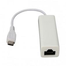Micro USB мережева карта LAN RJ45