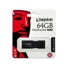 Портативні носії інформації 64GB Kingston DT 100 G3 (DT100G3/64GB)