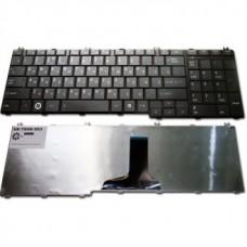 Клавиатура для ноутбука TOSHIBA (C650, C655, L650, L655, C660, L670, L675) rus, black
