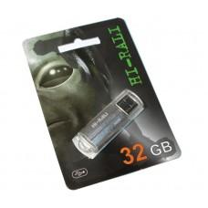 Портативні носії інформації 32GB Hi-Rali Corsair Silver (HI-32GBCORSL)