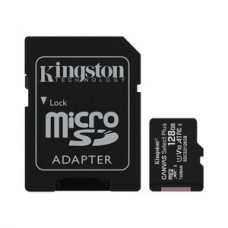 microSDXC 128GB Kingston Canvas Select Plus Class 10 UHS-I A1 + SD-adapter (SDCS2/128GB)