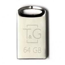 Портативні носії інформації 64GB T&G 105 Metal (TG105-64G)