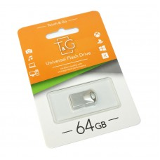 Портативні носії інформації 64GB T&G 109 Metal (TG109-64G)