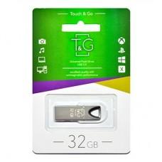 Портативні носії інформації 32GB T&G 117 Metal Black (TG117BK-32G)