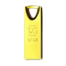 Портативні носії інформації 32GB T&G 117 Metal Gold (TG117GD-32G)32 ГБ / USB 2.0 / метал
