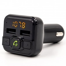 FM - трансмітер Grand-X 95GRX, HSP, Hands Free, Bluetooth V4.2, 2 USB 3,4А