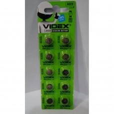 Батарейка Videx AG9/LR936